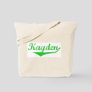 Kayden Vintage (Green) Tote Bag