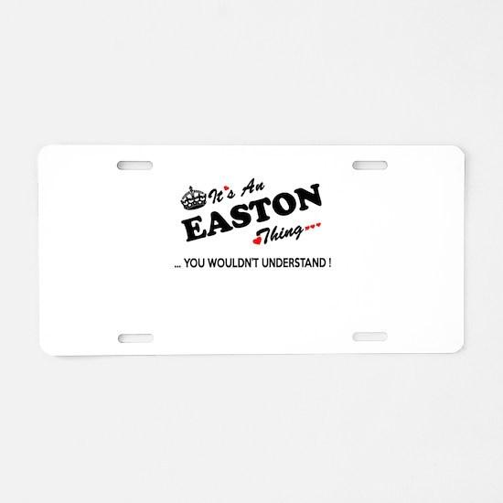 Funny Easton Aluminum License Plate