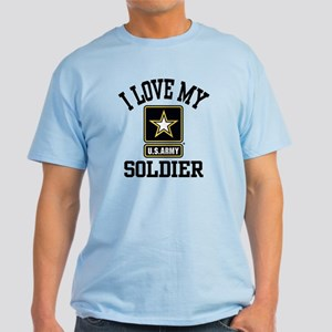 I Love My US Army Soldier Light T-Shirt
