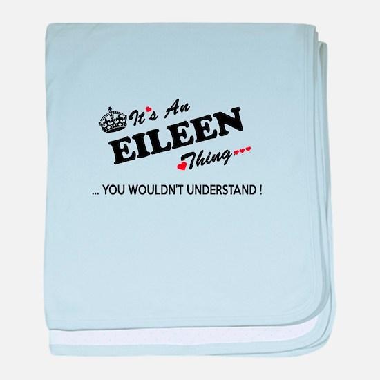 Cute Eileen baby blanket
