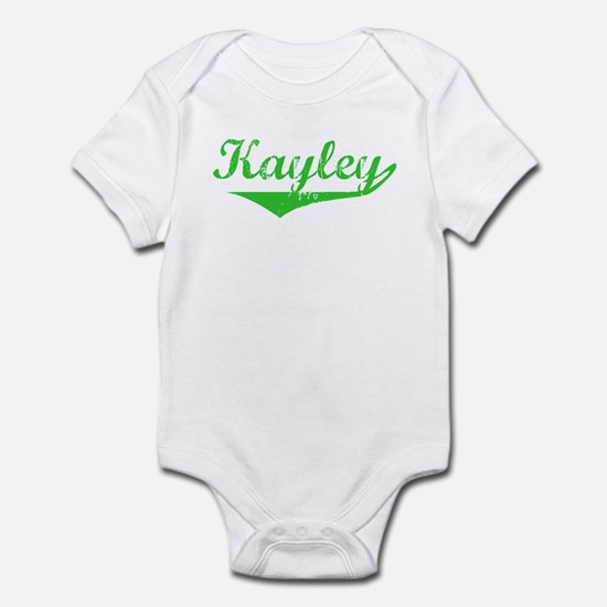 Kayley Vintage (Green) Infant Bodysuit