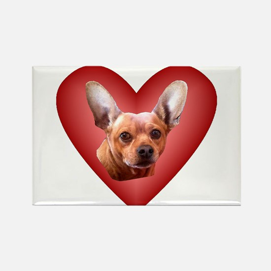 Chiweenie Love Magnets