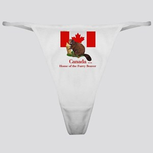 Canada - Beaver Home Classic Thong