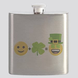St Patty's Math Flask