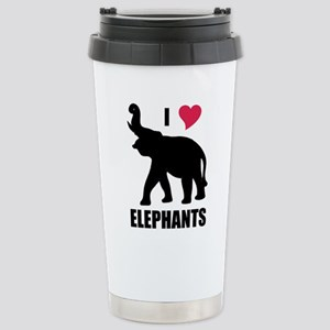 I Love Elephants Mugs