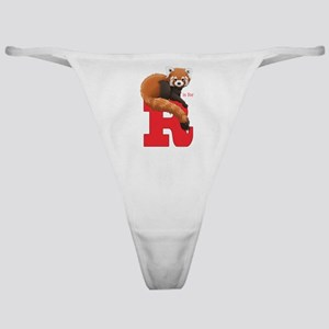 R is for Red Panda Classic Thong