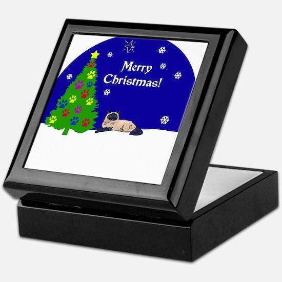 Himalayan Merry Christmas Keepsake Box