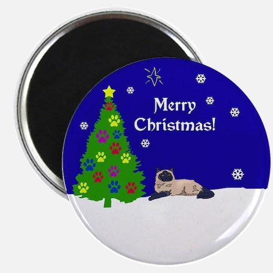 Himalayan Merry Christmas Magnet