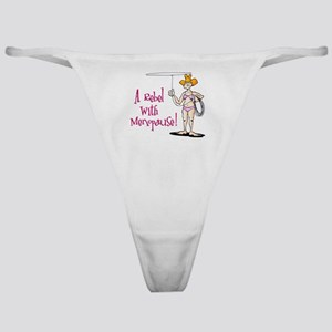 Rebel with Menopause Classic Thong