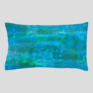 Caribbean Sea Watercolor Texture Pillow Case