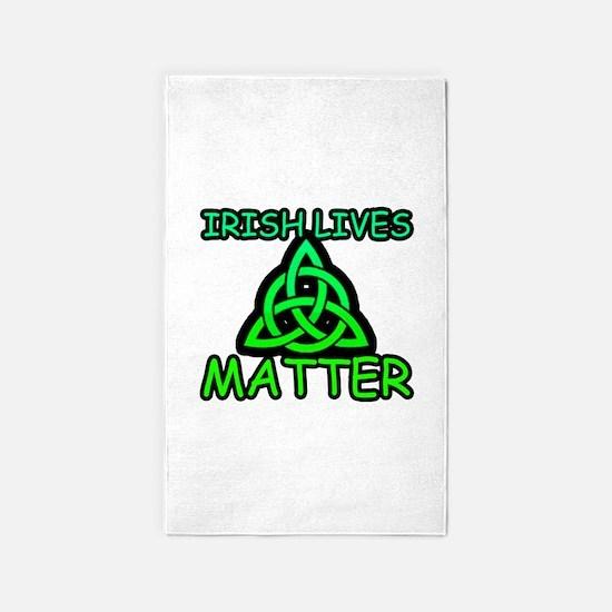 Irish Lives Matter 2 Area Rug