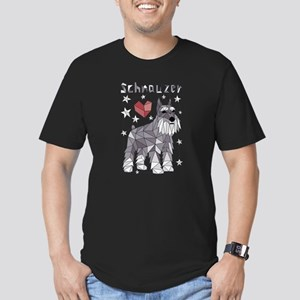 Geometric Schnauzer T-Shirt