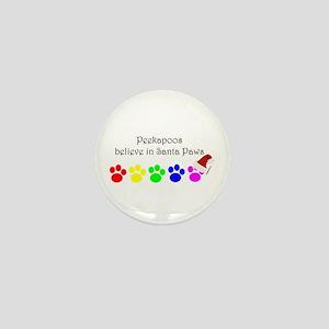 Peekapoos Believe Mini Button