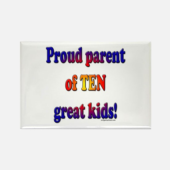 Cute Large families Rectangle Magnet