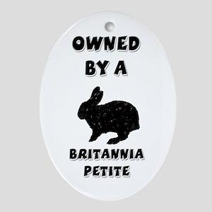 Owned by a Britannia Keepsake (Oval)