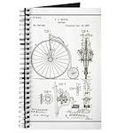 Bicycle Patent Print 1887 Journal