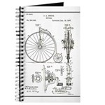 Bicycle Patent Print 1887 Journal