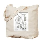 Bicycle Patent Print 1887 Tote Bag
