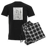 Bicycle Patent Print 1887 pajamas