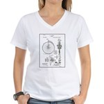 Bicycle Patent Print 1887 T-Shirt