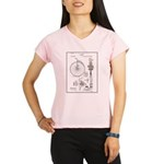 Bicycle Patent Print 1887 Performance Dry T-Shirt