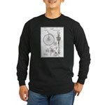 Bicycle Patent Print 1887 Long Sleeve T-Shirt
