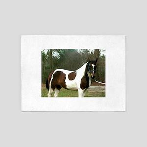 Paint Horse Photograph 5'x7'Area Rug