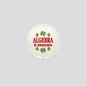 Algebra is Awesome Mini Button
