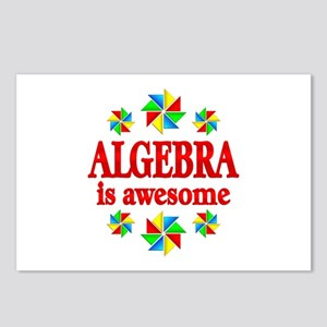 Algebra is Awesome Postcards (Package of 8)