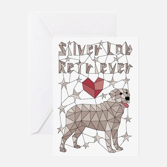 Cute Silver Greeting Card