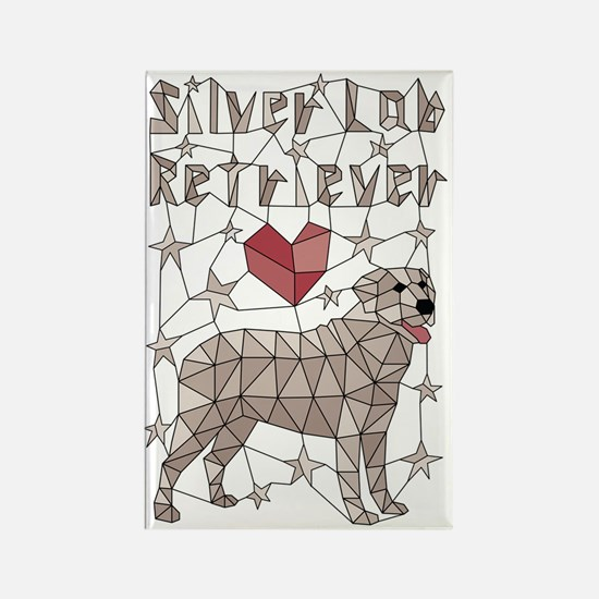 Cute Art by silver Rectangle Magnet
