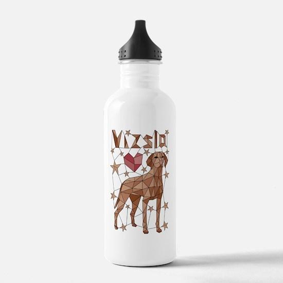 Funny Geometric Water Bottle