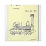 Train Locomotive Patent Paper Print 1842 Queen Duv