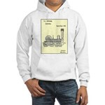 Train Locomotive Patent Paper Print 1842 Hoodie Sw