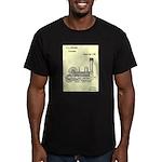 Train Locomotive Patent Paper Print 1842 T-Shirt