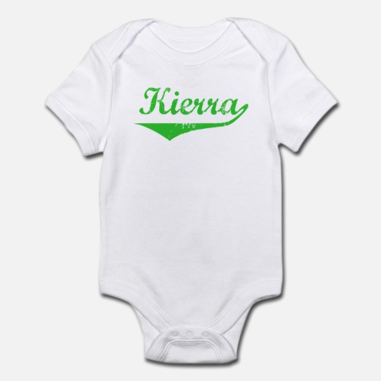 Kierra Vintage (Green) Infant Bodysuit