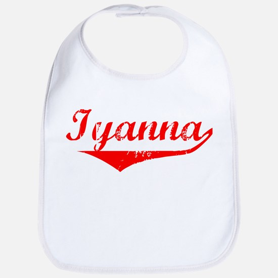 Iyanna Vintage (Red) Bib