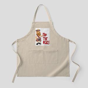 Scot Up Yer Kilt BBQ Apron