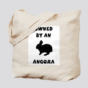 Owned by an Angora Rabbit Tote Bag