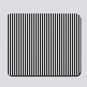 B&W Stripes Mousepad