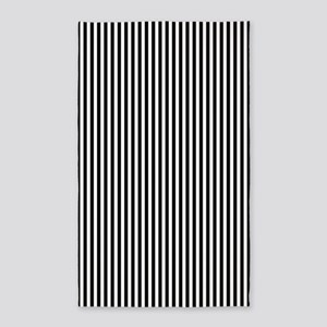 B&W Stripes Area Rug