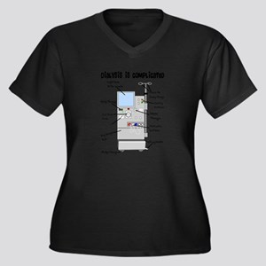 Dialysis is Complicated Plus Size T-Shirt