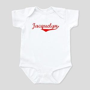 Jacquelyn Vintage (Red) Infant Bodysuit
