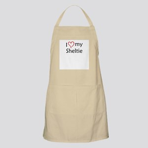 Sheltie BBQ Apron