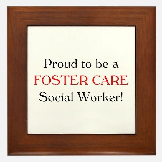 Proud Foster Care SW Framed Tile