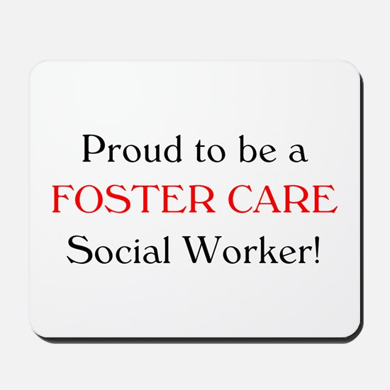 Proud Foster Care SW Mousepad