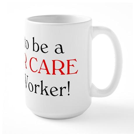 Proud Foster Care SW Large Mug