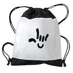 ILY Character Drawstring Bag