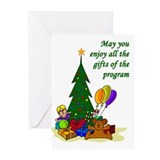Alcoholics anonymous christmas Greeting Cards