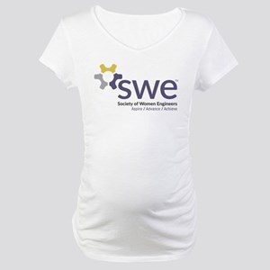 SWE Aspire, Advance, Achieve Maternity T-Shirt